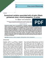 Somatoclonal Variation Journal