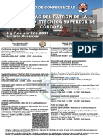 Cartel Jornadas Patron Abril-2016