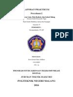 Praktikum Antena Percobaan 2 (Sisca)