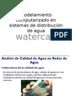 Modelamiento Computarizado en Sistemas de Distribución de Agua
