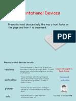 Presentation Devices