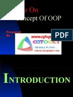 Concept of Oop