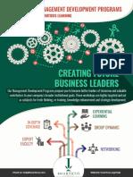 International Brochure - Organizational transformations