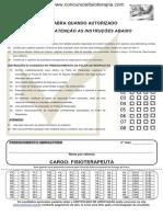 Prova_consesp_franca Patrocínio Paulista - Sp