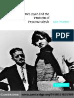 Luke Thurston-James Joyce and the Problem of Psychoanalysis (2004)