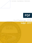 Chattanooga FY17 Budget Proposal