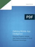 Apteligent White Paper Defining Mobile App Intelligence
