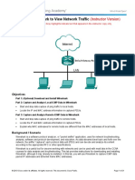 3.3.3.4 Lab - Using Wireshark to View Network Traffic - ILM