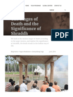 The Stages of Death and the Significance of Shraddh