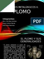 Presentación Metalurgia PLOMO