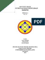 Petunjuk Teknis Skripsi Teknik Informatika Unpam 2 0