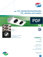 Guentner CXGDF Data Sheet de En
