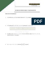 Álgebra, Ecuaciones de Primer Grado y Planteamientos