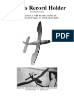 Dethermalizer - a Free-Flight Model Airplane