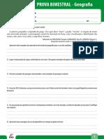 Ensino Fundamental Provas Bimestrais 2012 6o Ano Prova Bimestral 1 Caderno 1 Geografia