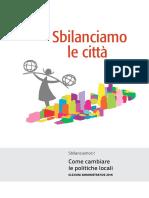 Sbilanciamo le città - Come cambiare le politiche locali