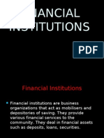 india financial institutions