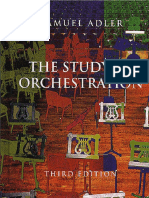 Samuel Adler the Study of Orchestration 3rd Editionpdf