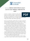 Nota de Prensa Curso Cómic Alcalá