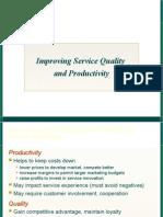 sevice quality productivity
