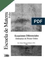 Rodríguez Sharay - Ecuaciones Diferenciales -Folleto 1