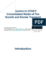 Intro to CFAST