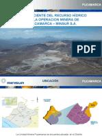 Experiencias Uso Eficiente Del Recurso Hídrico en La Operación Minera de Pucamarca