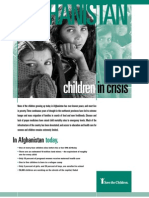 Afghanistan Children in Crisis, January 2002
