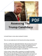 Assessing the Trump Candidacy