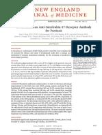 Brodalumab, An Anti–Interleukin-17–Receptor Antibody for Psoriasis