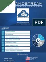 Presentation Telephony & Surveillance by Cloud & Steam Technologies Rabat