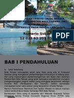 Proposal Penelitian Kontribusi Retribusi Objek Wisata Terhadap APBD Kota Palopo