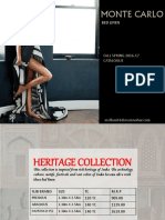Monte Carlo Bed Sheets Catalog 2016
