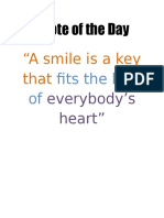 Quotation Poster