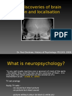Lecture 8 Early Discoveries of Brain Function and Localisation