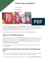 Guía Para Crear Tienda Pop-up Capítulo 1 Generalidades