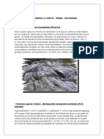Rocas Ígneas La Oroya Geologia