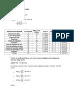 Cálculo de Necesidad de Equipos