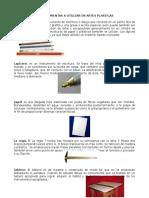 20 Herramientas Utilizadas en Artes Plasticas
