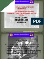 PEQUEÑA MINERIA Y MINERIA ARTESANAL EN PERU