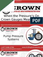 Crown Oilfield Instrumentation OTC Presentation 2016