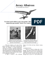 The Jersey Albatross - a Free-Flight Model Airplane (Glider)