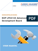 User Manual for NXP LPC213X Advanced Development Board