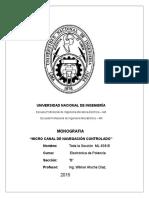 Informe Electronica de Potencia ML 839