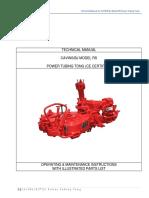 RS Power Tubing Tong Manual
