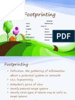Footprinting Project