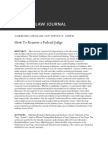 06-01-01-How to Remove a Federal Judge-Yale Law Journal Prakash
