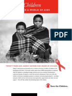 Children in a World of AIDS, October 2004