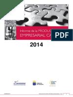 Informe Productividad Empresarial Can 2014