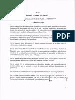 Decreto No.811 Reforma Reglamento Loei